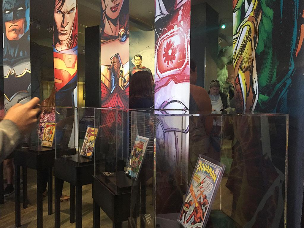 Super heróis na Warner