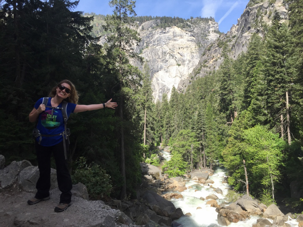 Vernal Falls no Yosemite