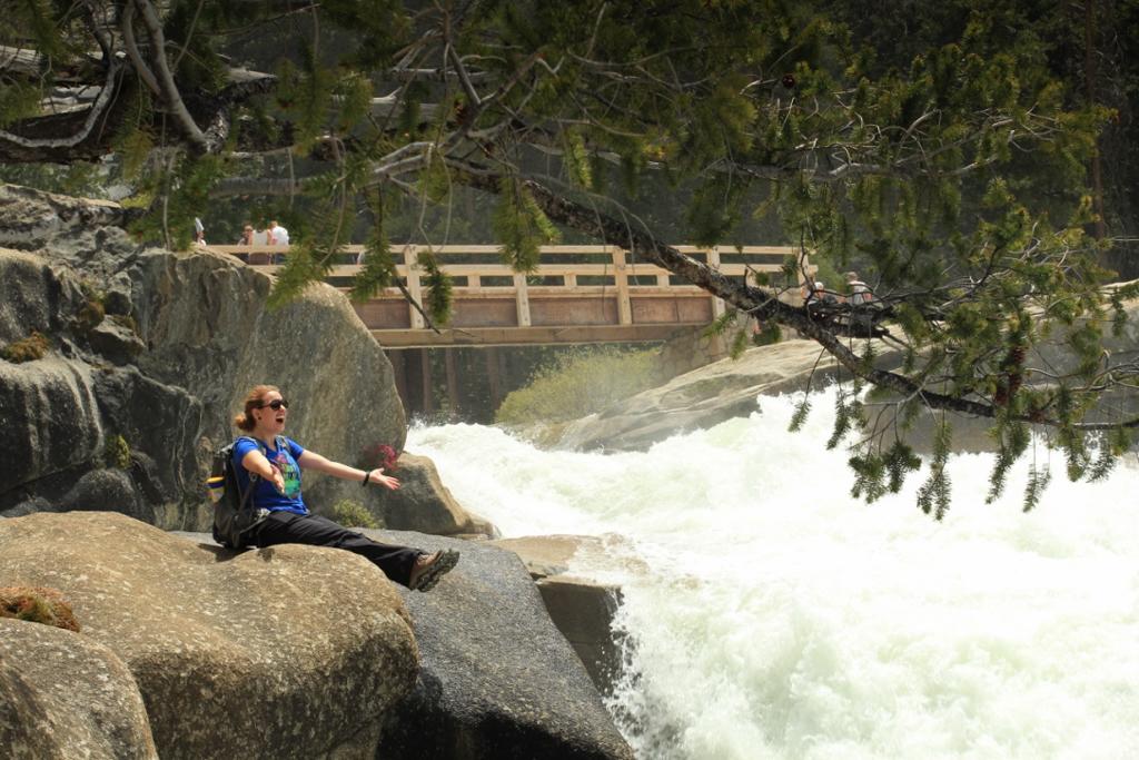 Nevada Falls no Yosemite