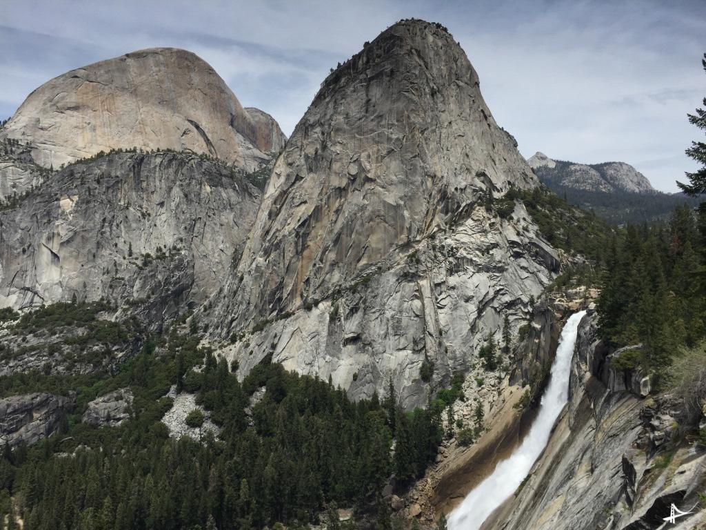 Cachoeiras no Yosemite