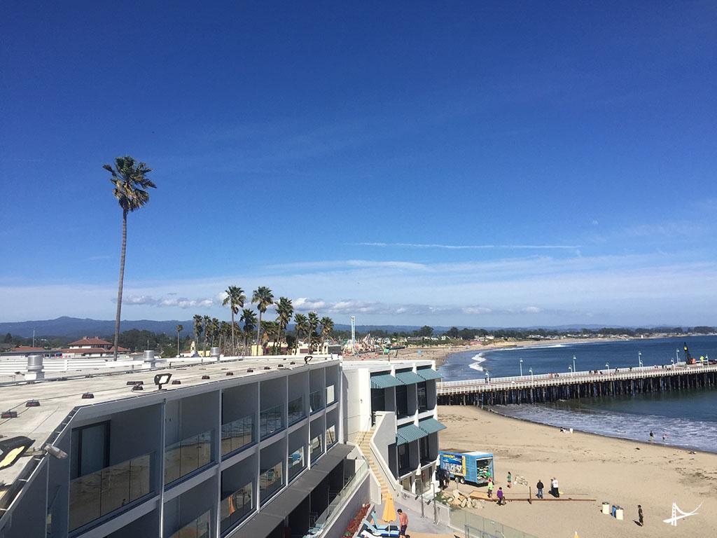 Hotel Dream Inn em Santa Cruz
