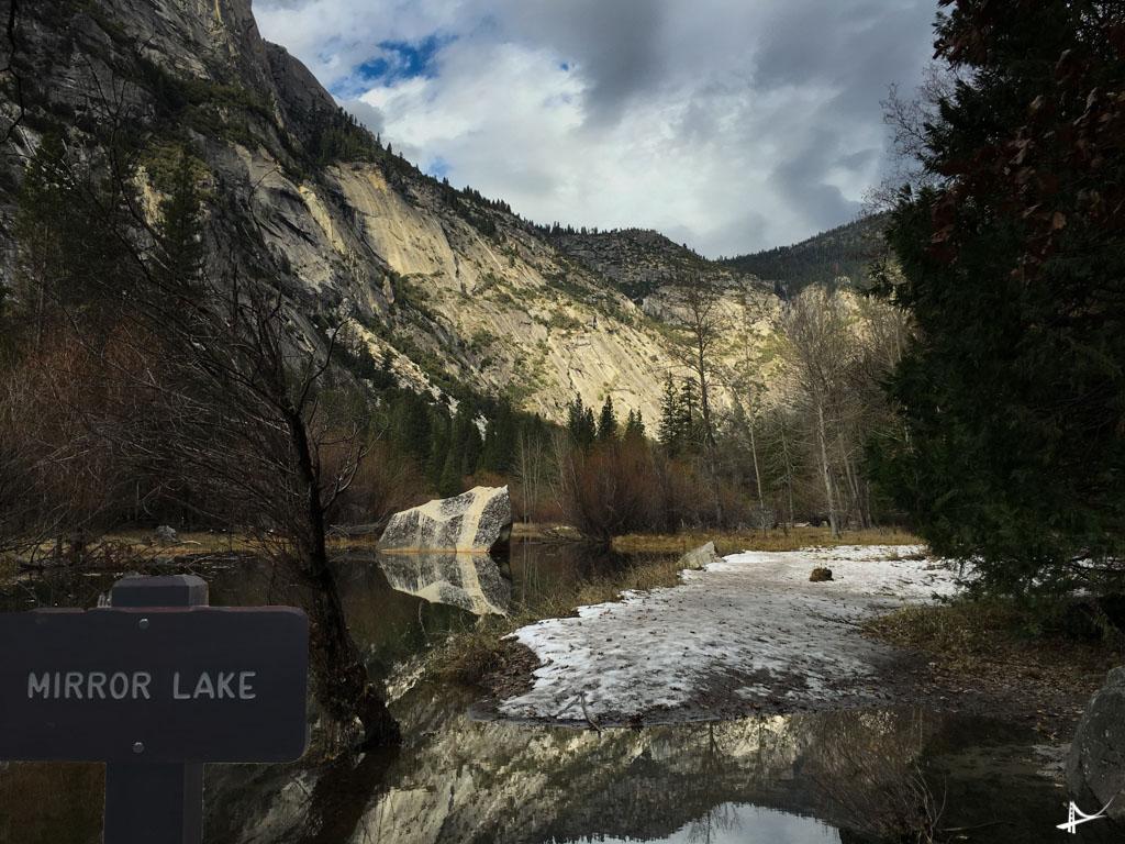Mirror Lake no Yosemite