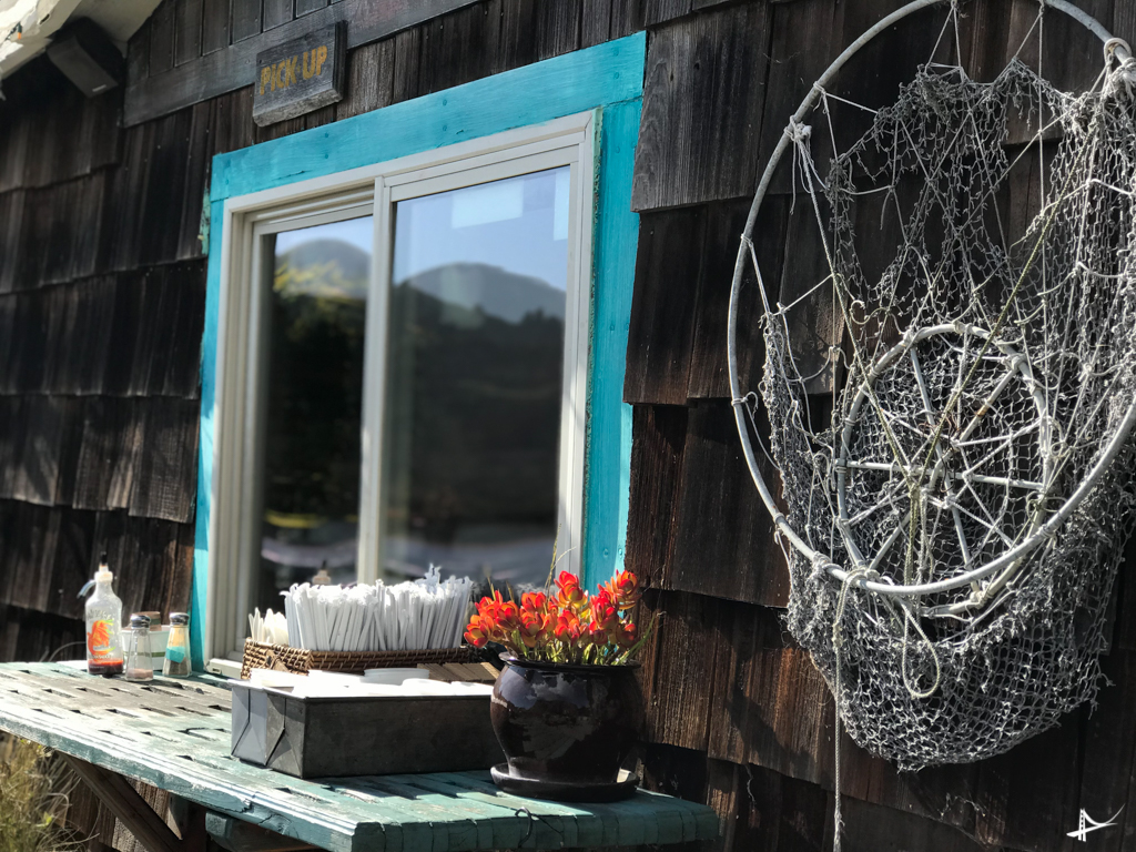 Cafe na Costa de Sonoma