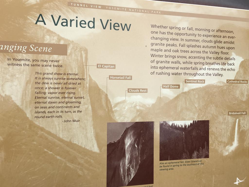 Tunnel View no Yosemite