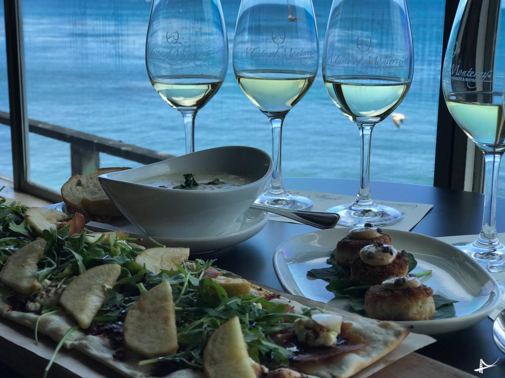 Degustação de vinhos em Monterey
