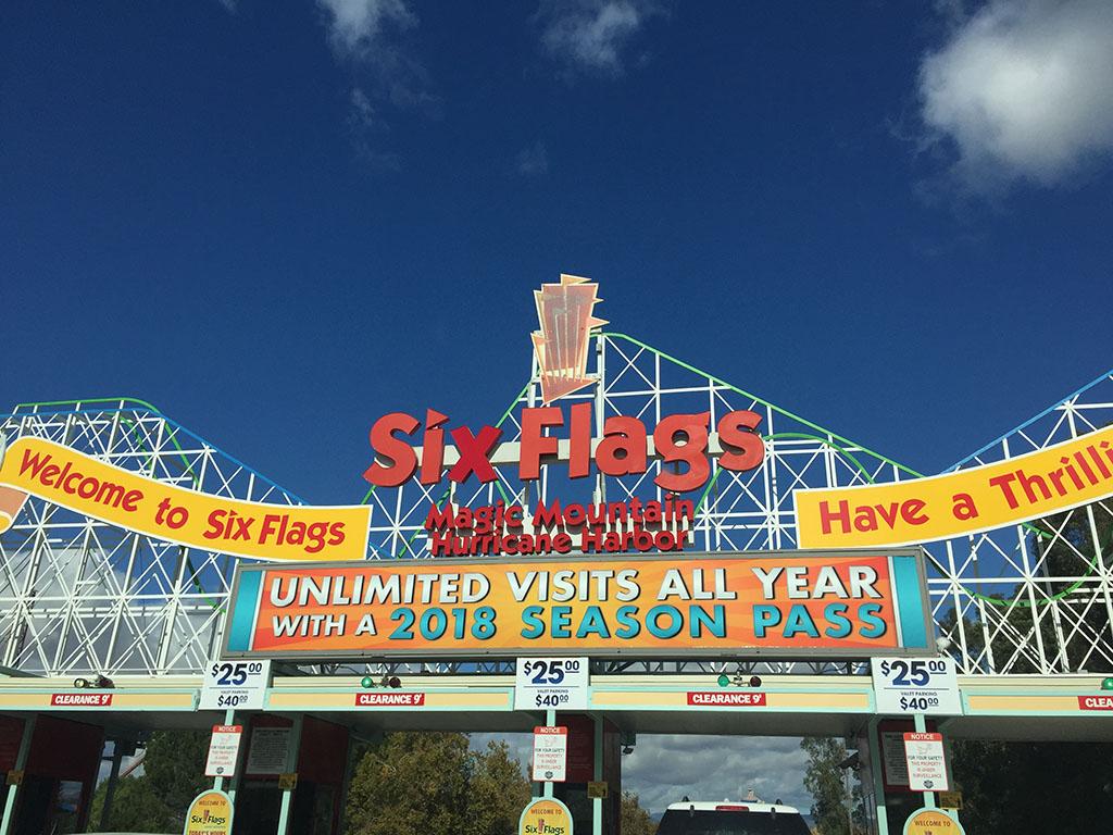 Six Flags em Valencia