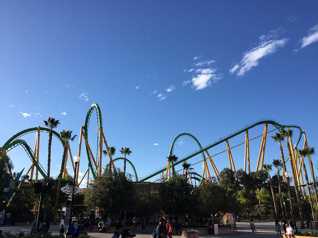 Six Flags na Califórnia