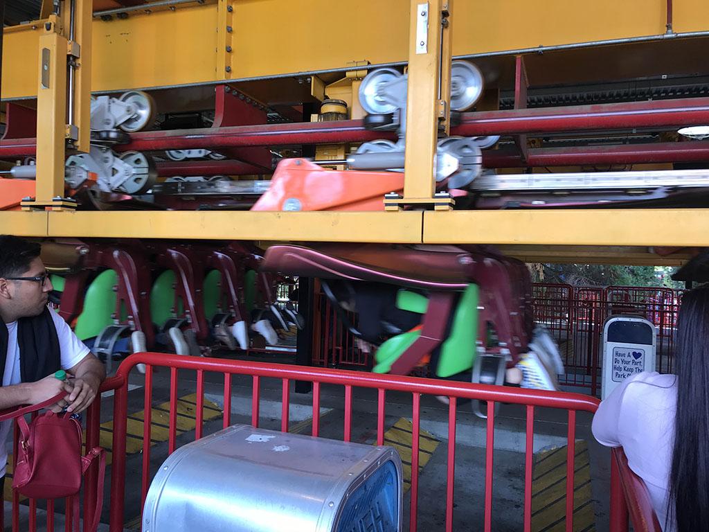 Montanha-russa Tatsu no Six Flags de Valencia