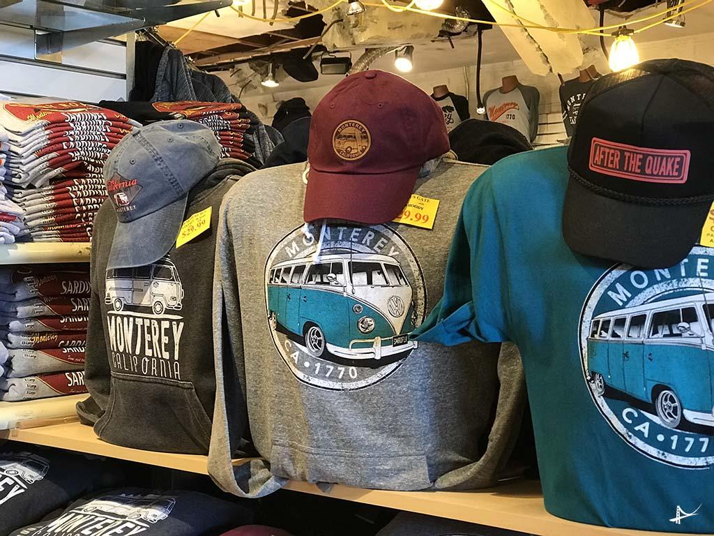 Lojas no Cannery Row em Monterey