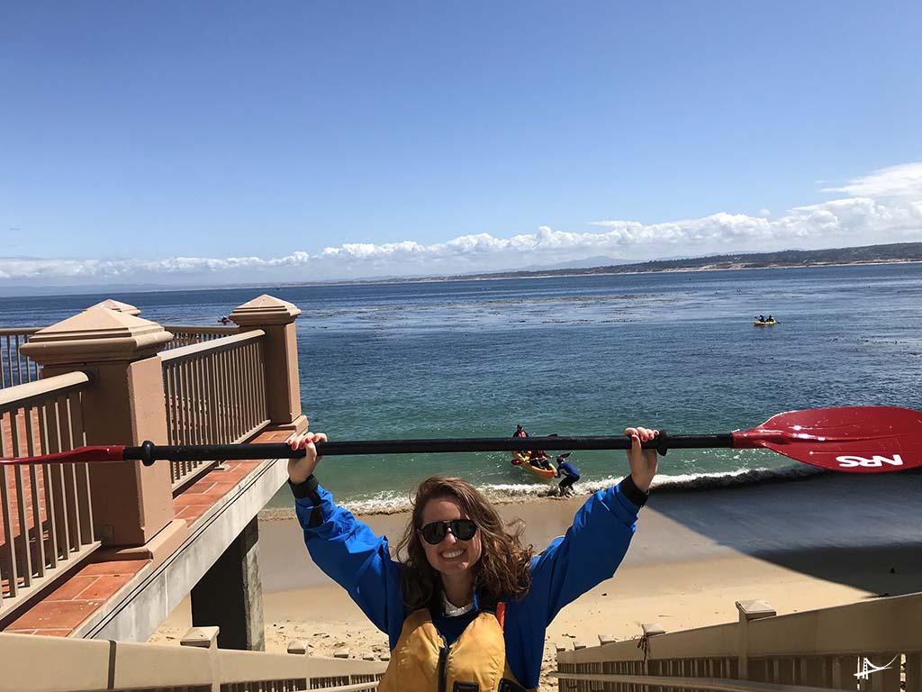 Kayak em Monterey