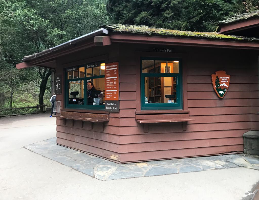 Entrada do Muir Woods