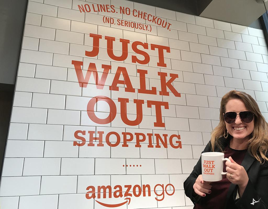 Loja da Amazon em San Francisco