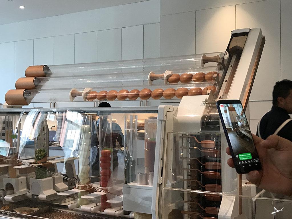 Maquina que faz hamburguer