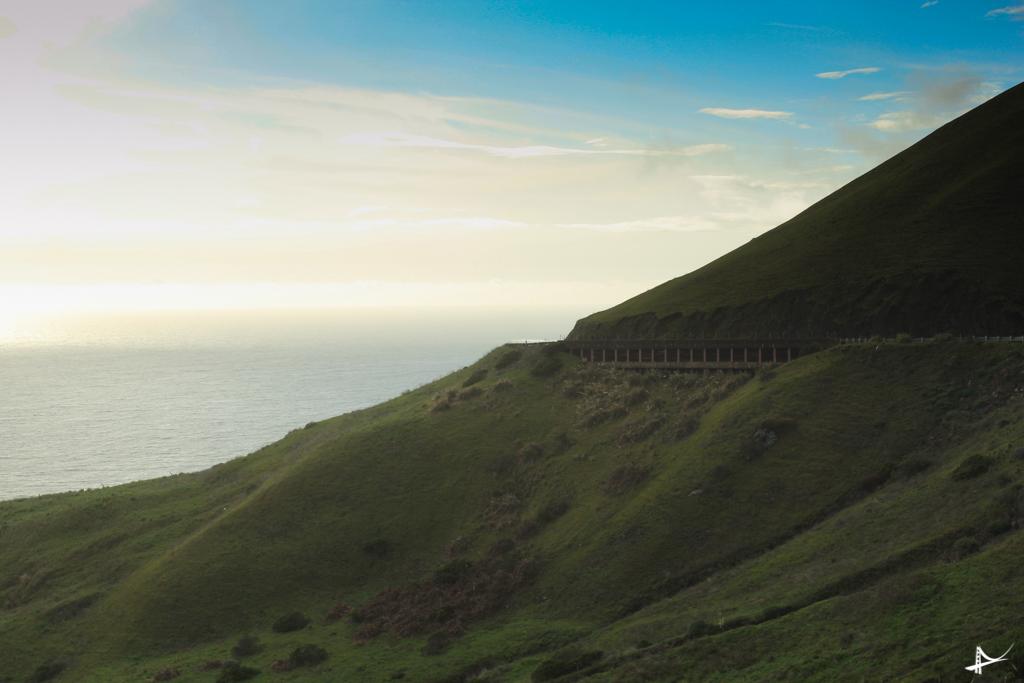 Estrada ao norte da Califórnia