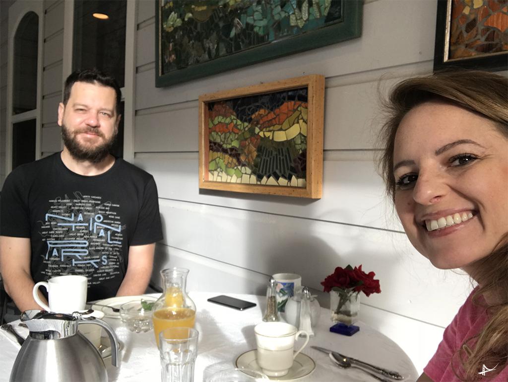 Café no Yosemite