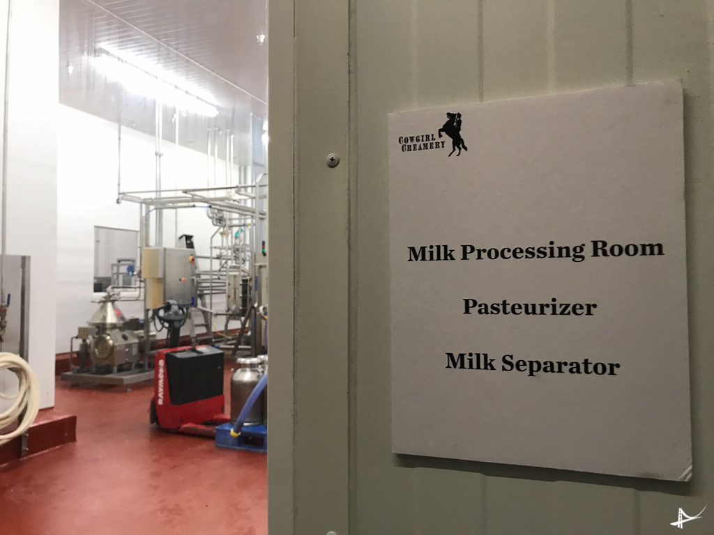 Fábrica de queijos em Petaluma