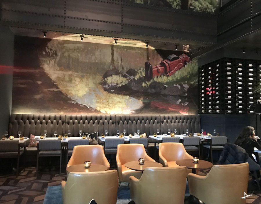 Commons CLub - restaurante do Virgin Hotel em San Francisco