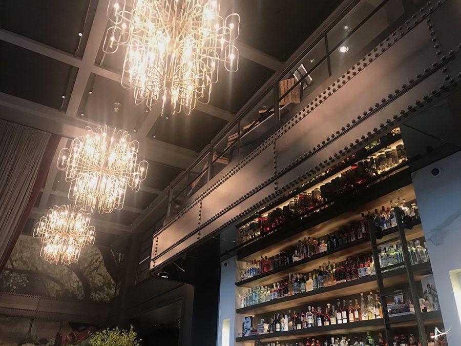 Bar do Virgin Hotel em San Francisco