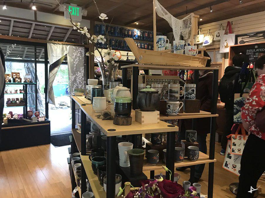 Gift shopping Tea Garden