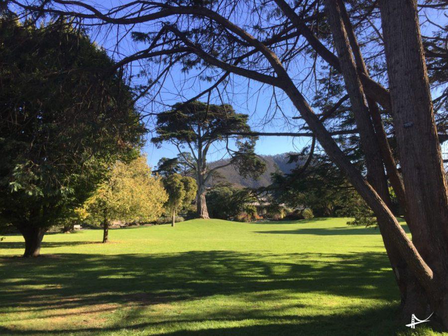 Golden Gate Park - local onde acontecem festivais no parque