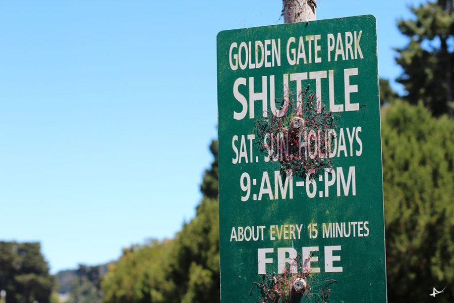 Transporte para o Golden Gate Park