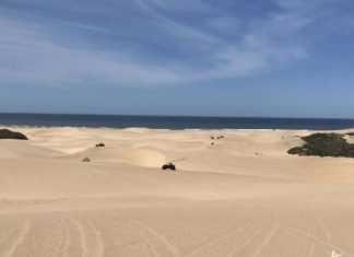 Buggie nas dunas da California