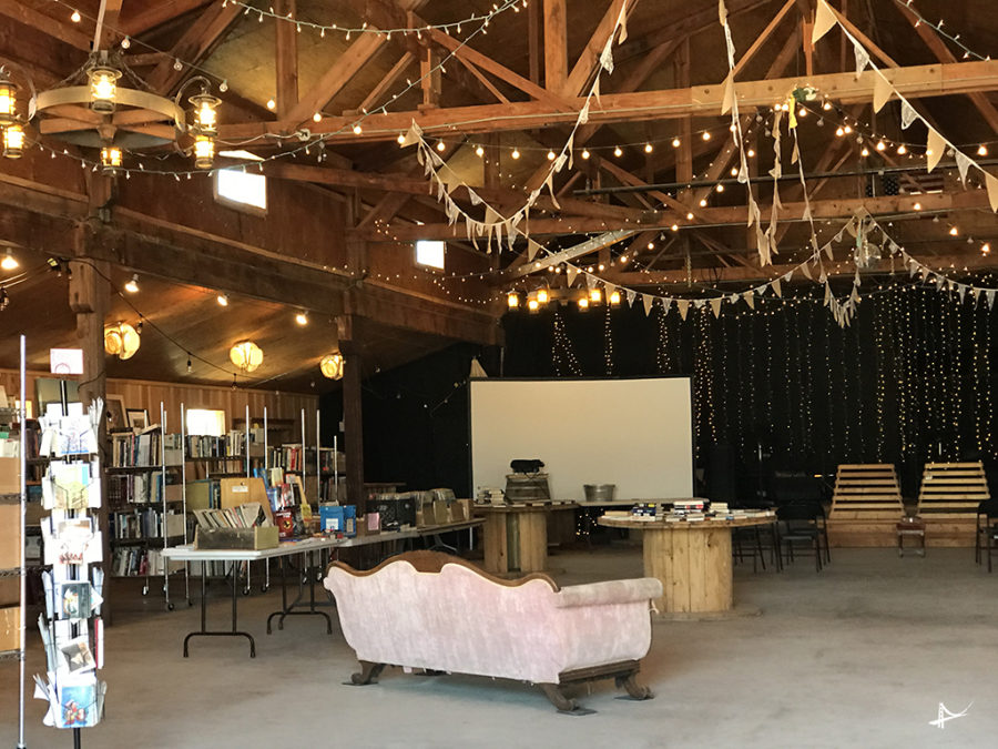 Pioneertown library - Hay Feed