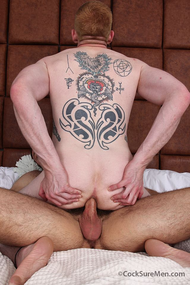 Muscle bear barebacks ginger stud