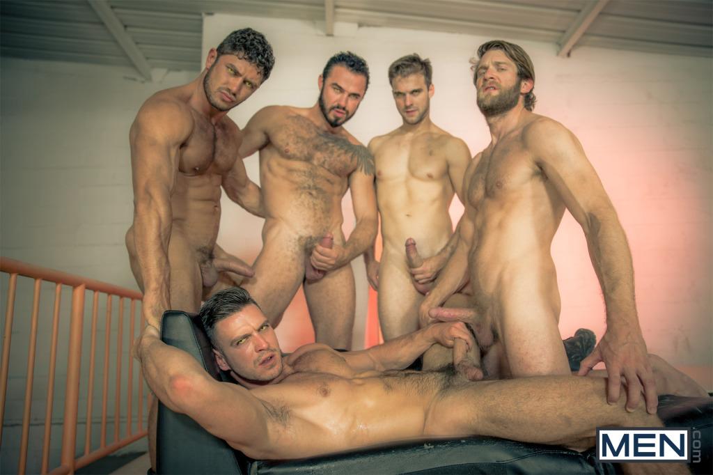 Four hot guys gangbang Paddy HowlPart4JO20