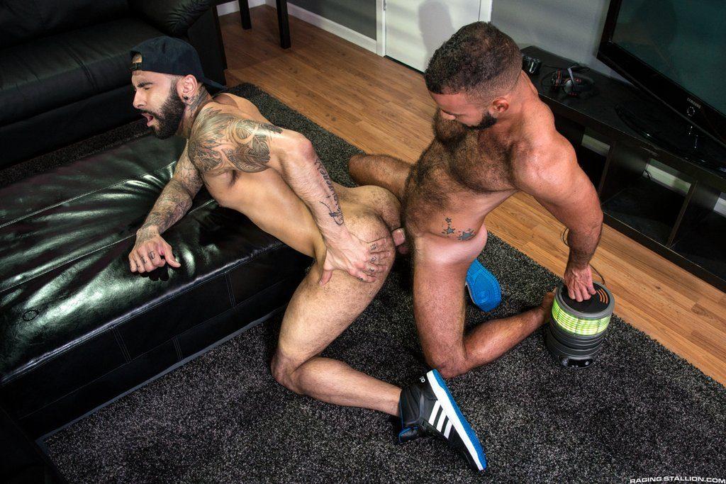 Hairy Guys Rikk York and Fernando Del Rio Flip Fuck 02