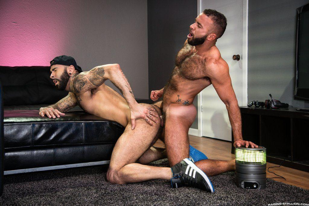 Hairy Guys Rikk York and Fernando Del Rio Flip Fuck 03