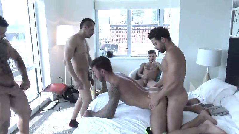 Four Big Dicked Studs Fuck Cris Knight Raw 03