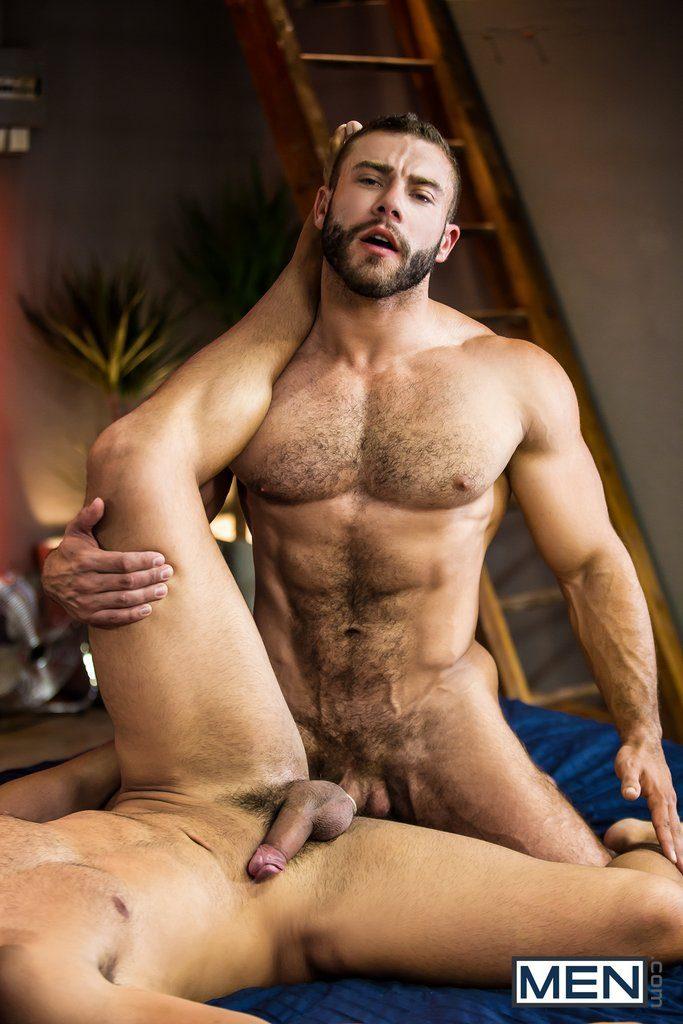 Hairy Latino Diego Reyes Fucks Muscle Hunk Nicolas Brooks 06