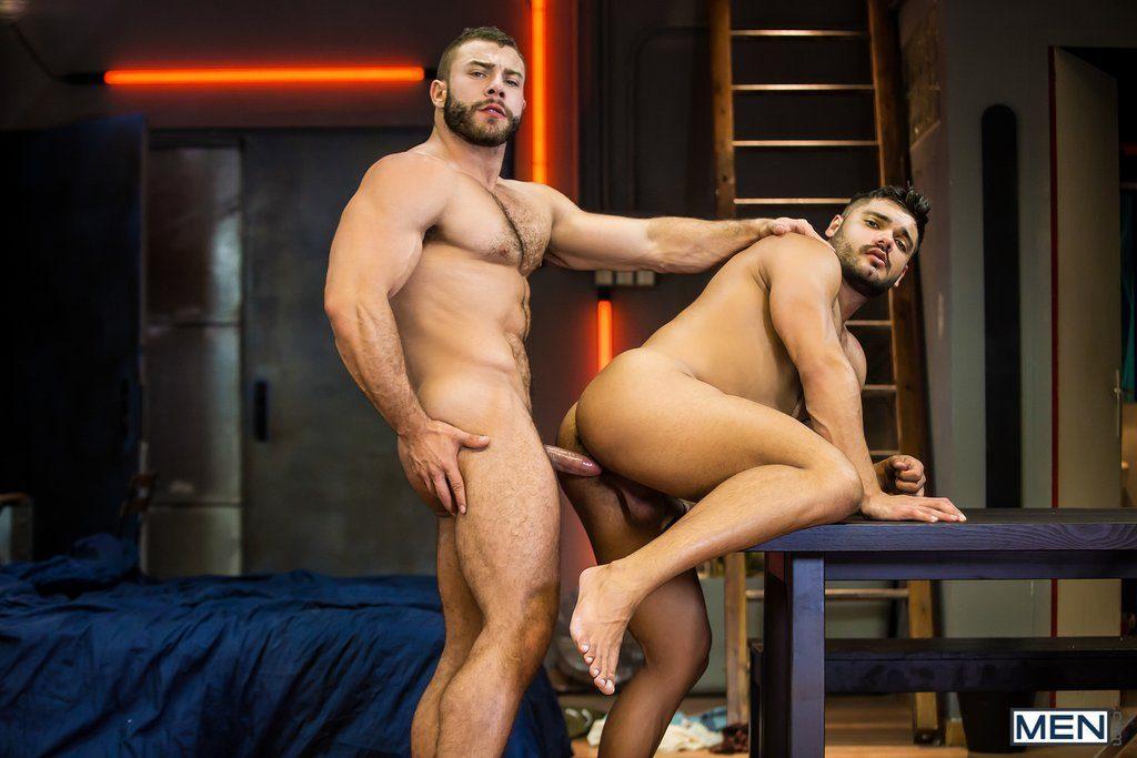 Hairy Latino Diego Reyes Fucks Muscle Hunk Nicolas Brooks 10
