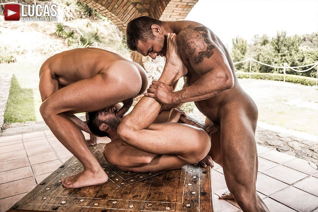 Brock Magnus and Andrey Vic Bareback Andy Star 01