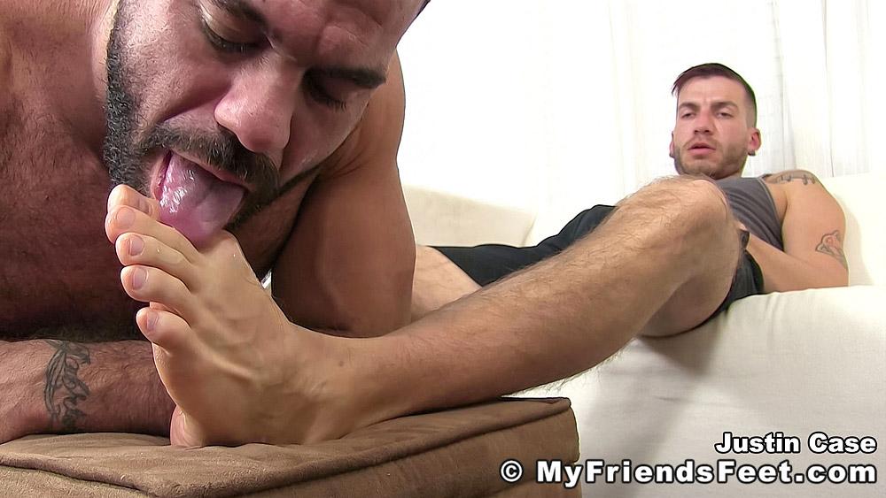 Ricky Larkin Worships Feet of Justin Case 10