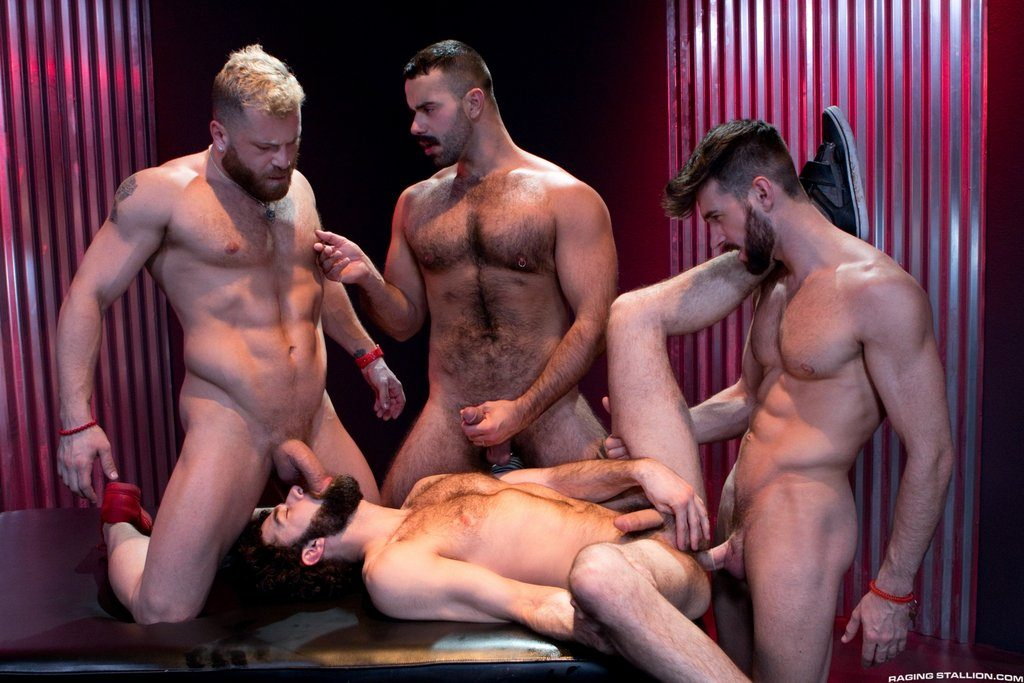 Three Hot Studs For Tegan Zayne 02