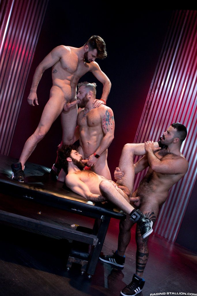 Three Hot Studs For Tegan Zayne 03
