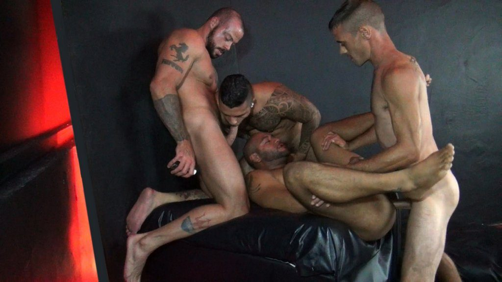 Three Hung Studs Fuck Leo Forte Raw 02