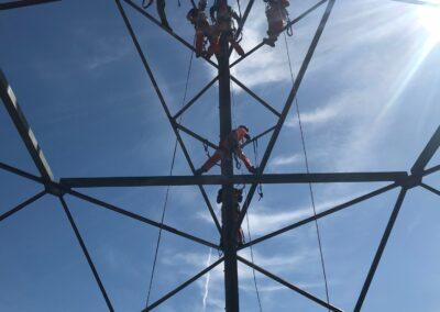 Petzl Technical Partner - TEAM-1 Academy - industry work at height, climbing