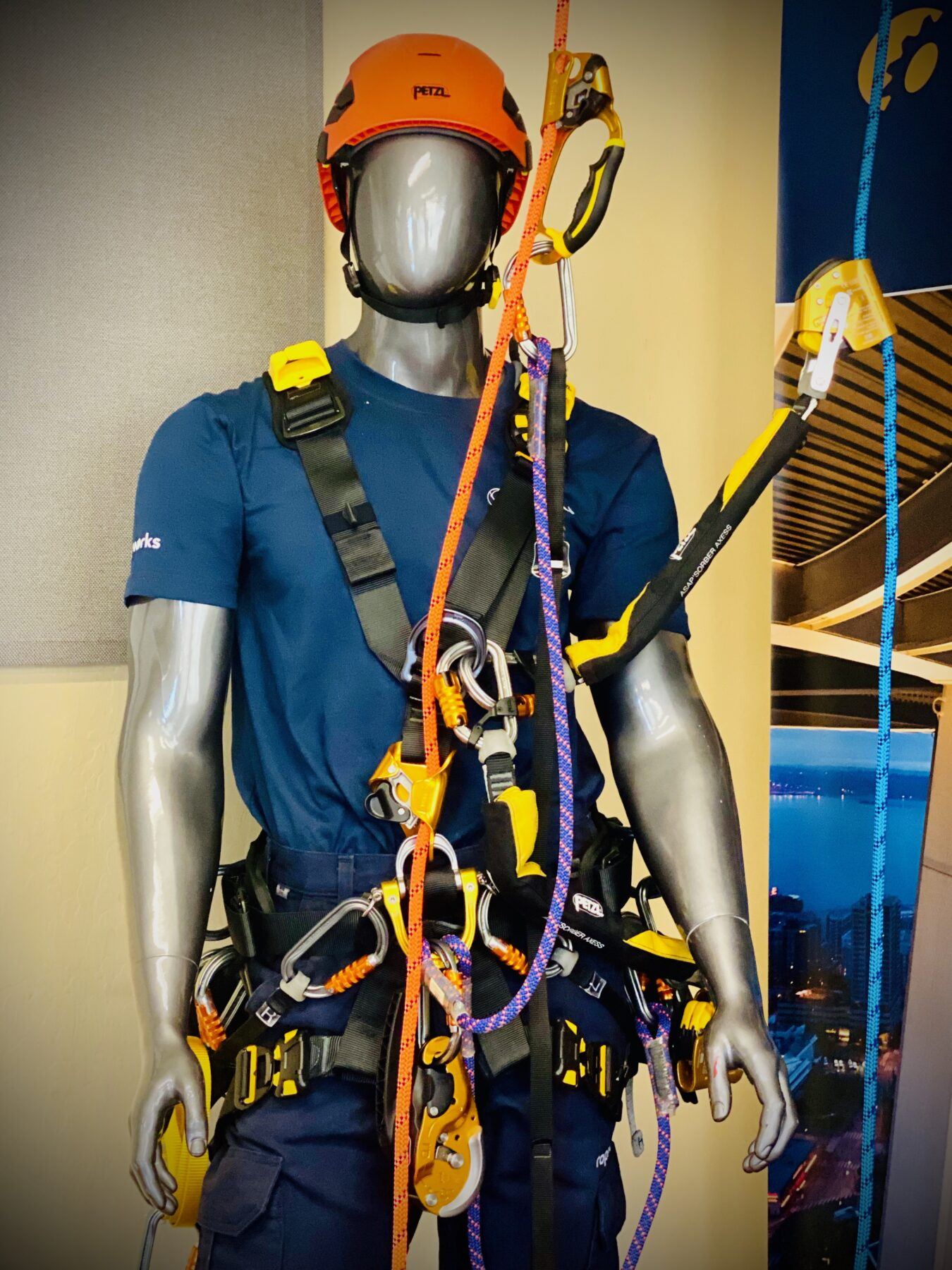 Petzl Technical Partner - MISTRAS/Ropeworks - fall protection equipment