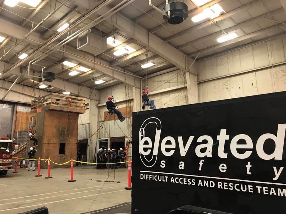 Petzl Technical Partner - Elevated Safety - indoor training facility