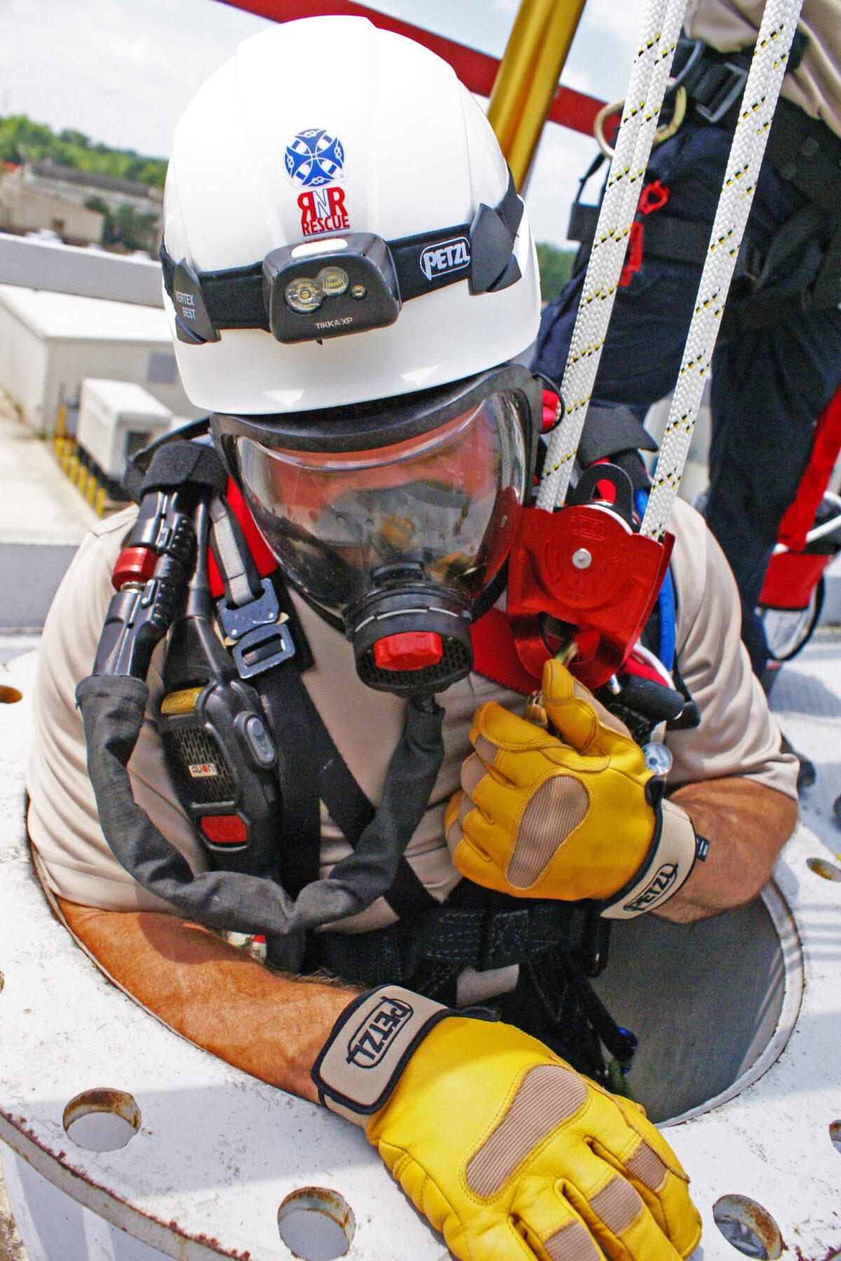 Petzl Technical Partner - RNR Rescue - engineer
