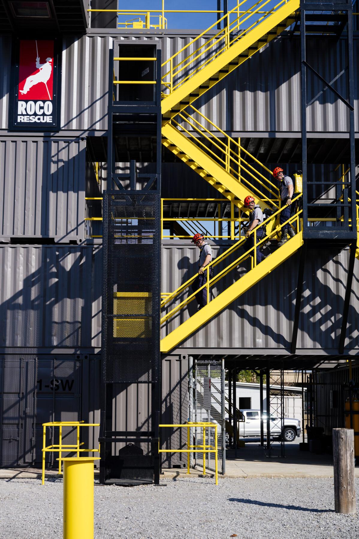Petzl Technical Partner - Roco Rescue - indoor training facility