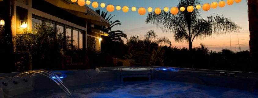 Halloween Party and Your Hot Tub