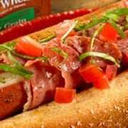 Prosciutto Wrapped Cheese Dogs
