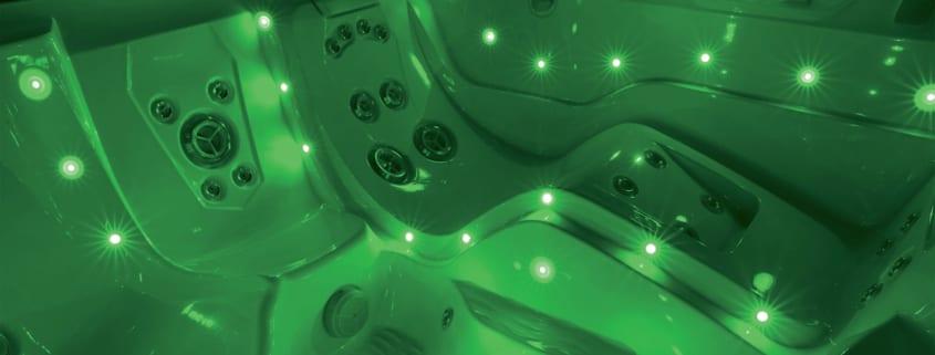 Exploring Hot Tubs, Chromatherapy, and LED Lighting