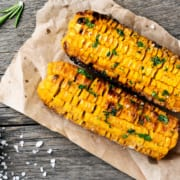Pellet Grilled Corn on the Cob