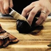 KILLER Steak + Lobster + Bacon-Wrapped Asparagus