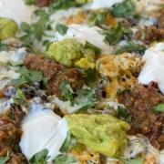Pulled Pork Nachos with Fire-Roasted Salsa